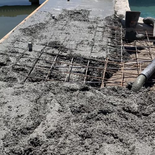 Deck Over Water Concrete in Sans Souci, NSW