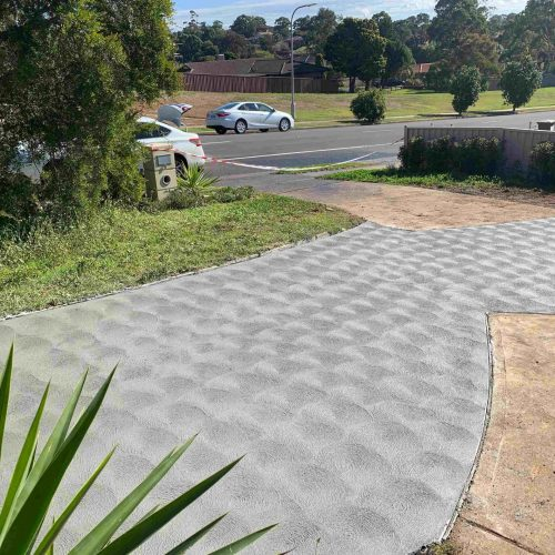 Driveway in Ambarvale, NSW