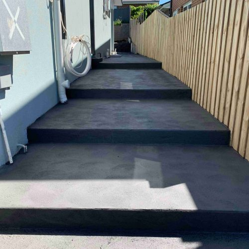 Step Footpath in Campbelltown, NSW